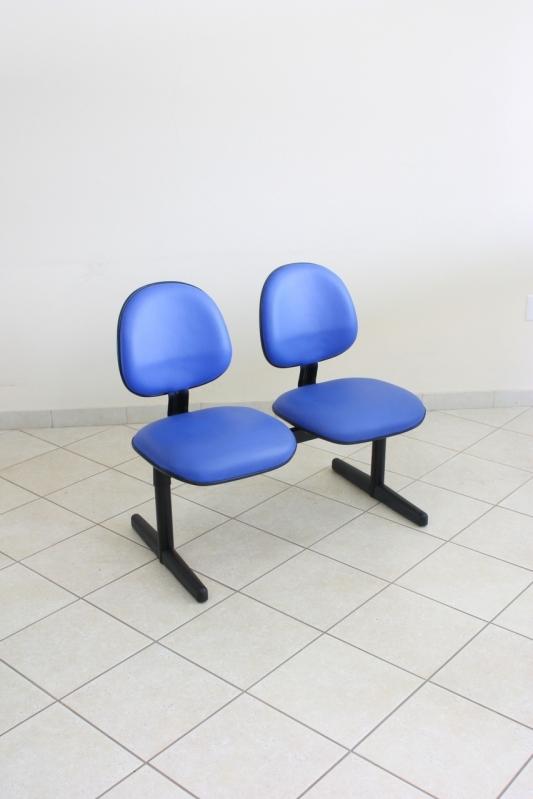 Cadeiras Fixas para Escritório