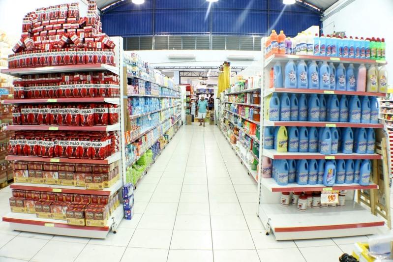 Comprar Prateleira para Mercado Peruíbe - Fabricante de Prateleiras sob Medida