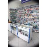 balcão sob medida para farmácia preço Janaúba