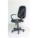 cadeira de escritório presidente Cananéia