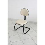 cadeira fixa para escritório Arcadas