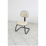 cadeiras escritório branca Rio Claro