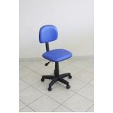 cadeiras escritório simples Ilha Comprida