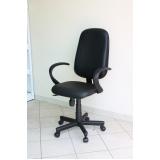 cadeiras executivas para escritório valor Jaú
