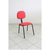 cadeiras fixas para escritório valor Campinas