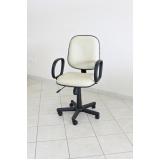 comprar cadeira escritório branca Uberaba