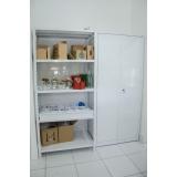 estantes de madeira para escritório Valinhos