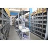fabricante de prateleira de aço Itinga