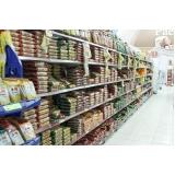 gôndola de supermercado