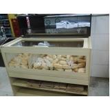 gôndola para padaria Capelinha