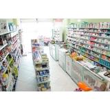 gôndolas para farmácia Amparo