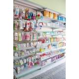 onde comprar gôndola para farmácia Presidente Prudente