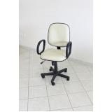 preço cadeira escritório branca Uberaba